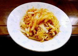 肉丝白菜炒粉丝