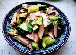蒜拌猪头肉黄瓜