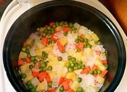 五彩鲜蔬杂粮饭