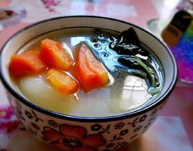 蜜枣白菜汤