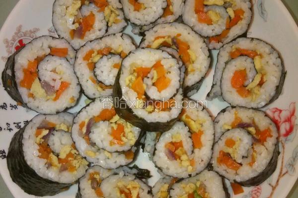 简单寿司做法