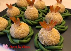 土豆凤尾虾球