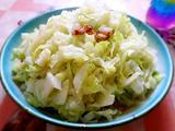 腐乳腊肉椰菜丝的做法[图]