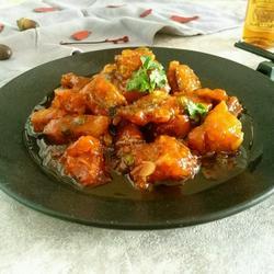番茄辣汁鳕鱼