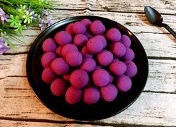 紫薯糯米小汤圆