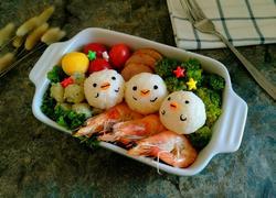 小鸡饭团便当盒