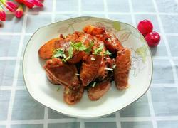 红腐乳焖土豆鸡翅中