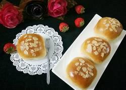 鲜奶油小面包(一次性发酵)