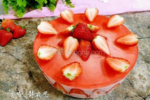 草莓酸奶慕斯蛋糕(8寸)