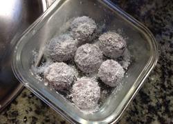 紫薯糯米糍(新式汤圆创意)