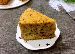 巧克力戚风蛋糕(八寸)