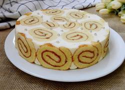 蛋糕卷奶酪慕斯