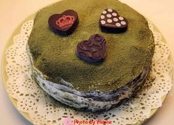 抹茶榴莲草莓芒果火龙果千层蛋糕