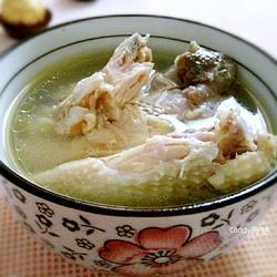 鸡肉西洋参汤