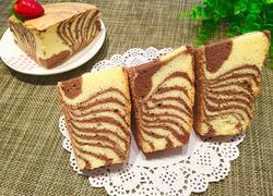 斑马纹双色戚风蛋糕(八寸)