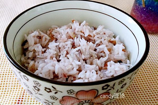 红米大米饭