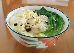 青菜香菇鸡蛋面(宝宝辅食)
