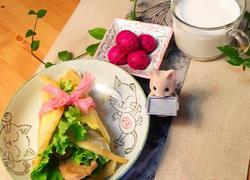 """告别油腻来一套""""金包翠""""健康早餐吧!"""