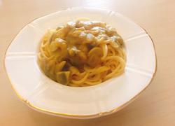 咖喱海鲜意大利面