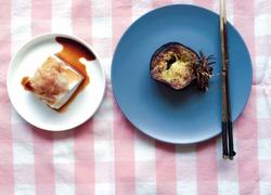 嫩姜煎米茄配鲣鱼豆腐方