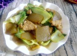 油菜粉坨炒肉