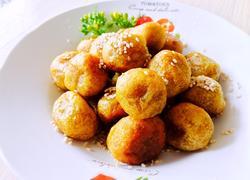 Q弹蜂蜜红薯丸