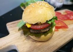 多汁牛肉mini汉堡