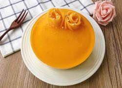 六寸芒果酸奶慕斯蛋糕