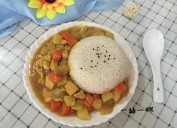 咖喱土豆鸡块饭