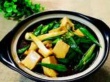 青蒜烧豆腐的做法[图]