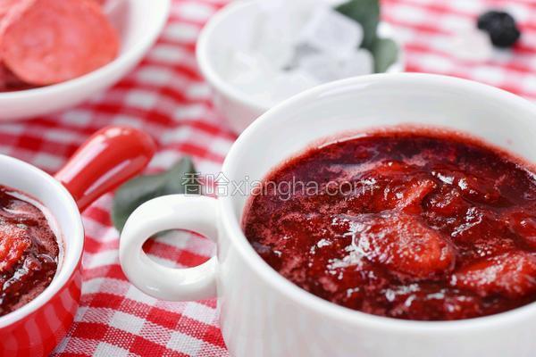 冰糖玫瑰草莓