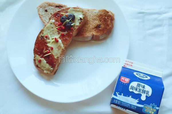 早餐系列-Carnival Toast嘉年华吐司