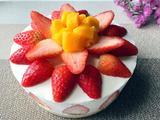 六寸草莓芝士蛋糕的做法[图]