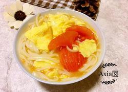 番茄鸡蛋煮面
