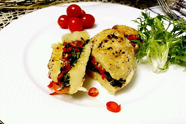 杭椒香菜烤鸡胸