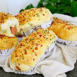 火腿芝士面包