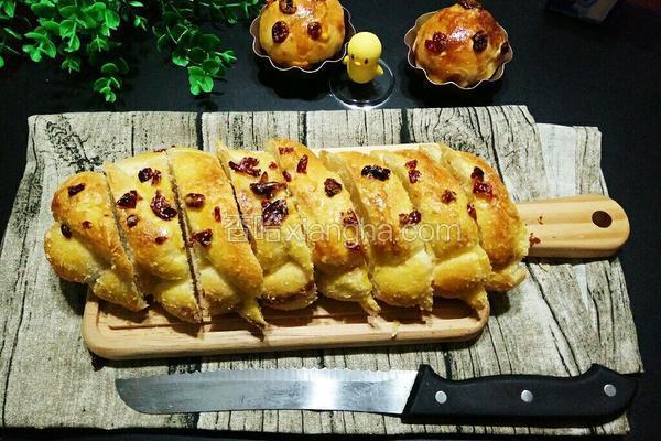 五股麻花辫软面包