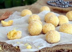 黄金椰丝球