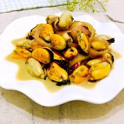 蒜香紫苏青口贝