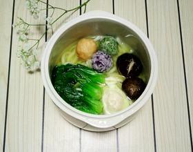 蔬菜乌冬面