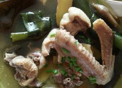 海带炖老鸭汤