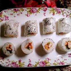 芝麻鸡柳寿司