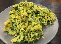 韭菜末鸡蛋