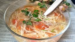金针菇汤的做法图解18