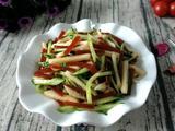 糖醋黄瓜苹果的做法[图]