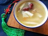 椰子乌鸡炖猪骨汤的做法[图]