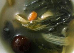 猪肉菜干山药汤