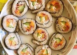 培根肉松口味寿司