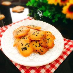 蛋白芝麻饼
