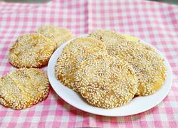 芝麻地瓜糯米饼